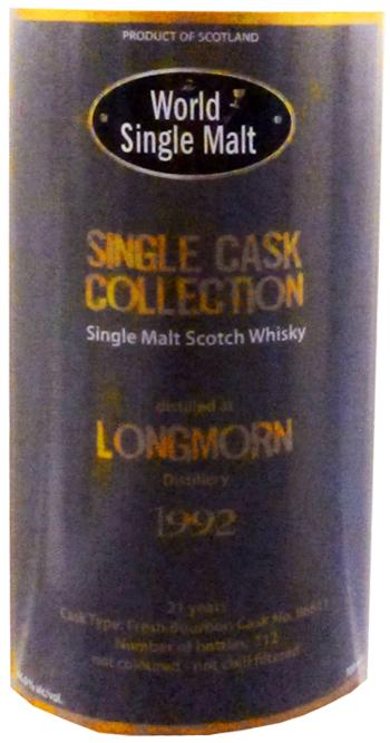 Longmorn 1992 WSM