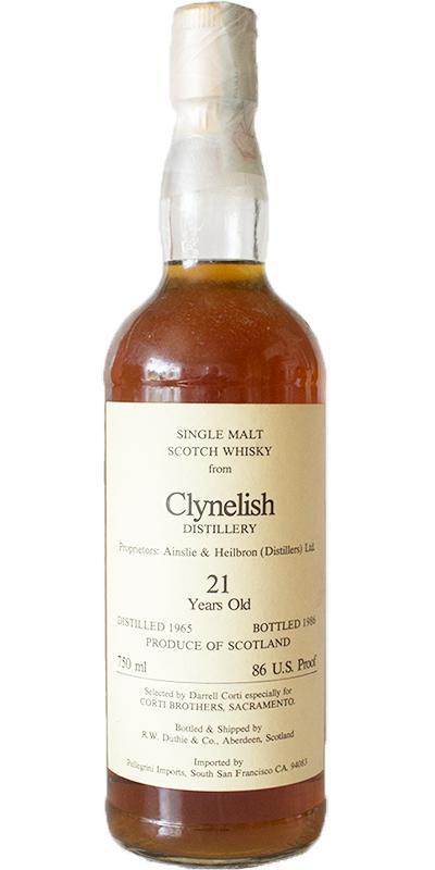 Clynelish 1965 RWD