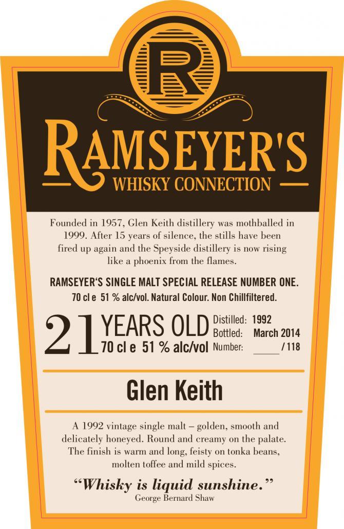 Glen Keith 1992 Ram