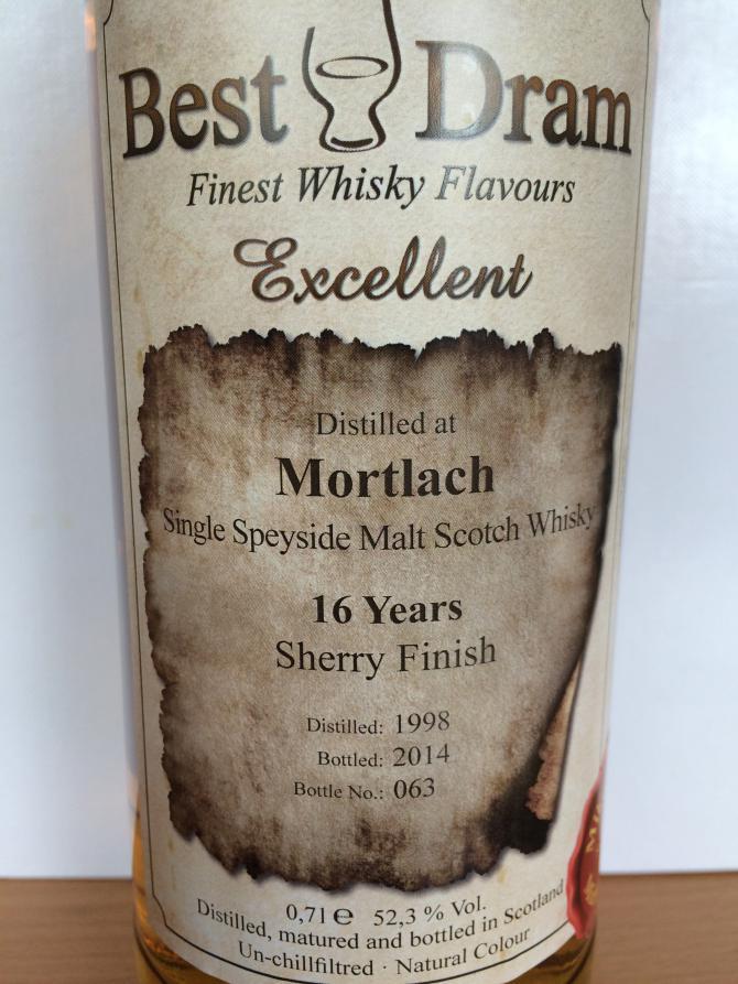 Mortlach 1998 BD