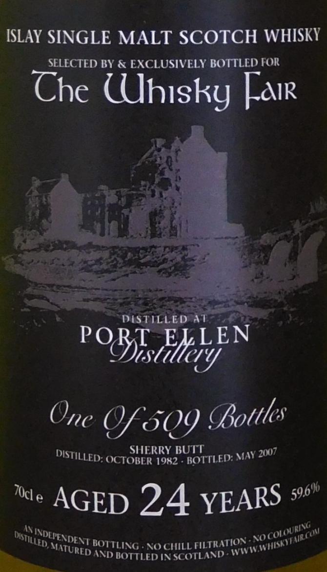 Port Ellen 1982 WF