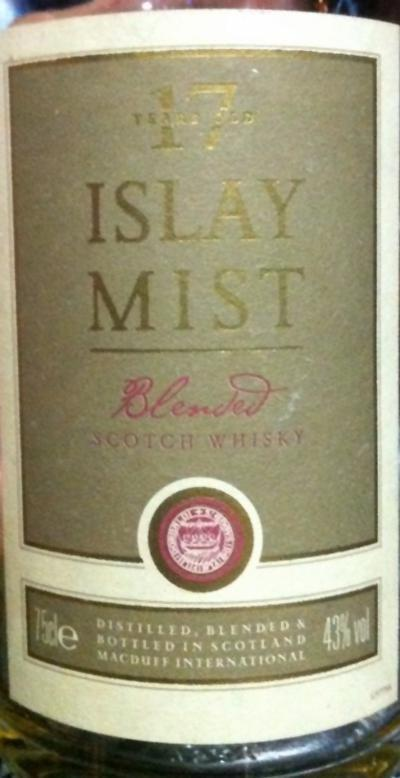 Islay Mist 17-year-old McDI