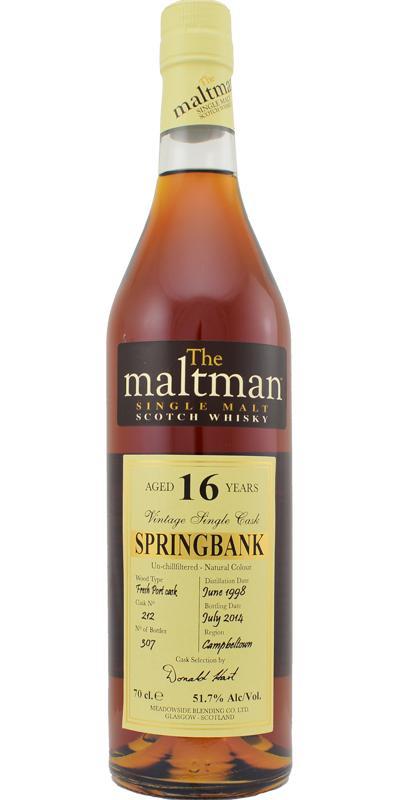 Springbank 1998 MBl