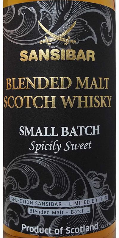 Blended Malt Scotch Whisky Spicily Sweet