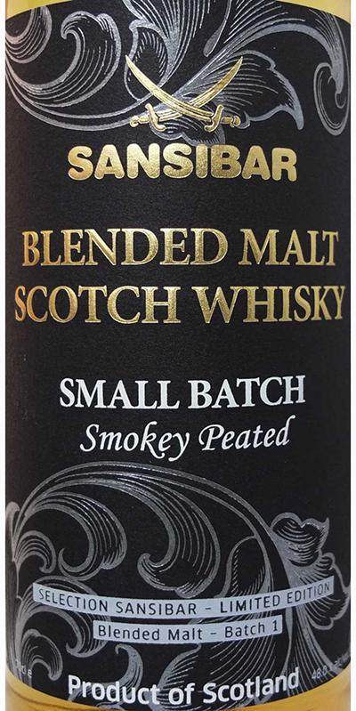 Blended Malt Scotch Whisky Smokey Peated