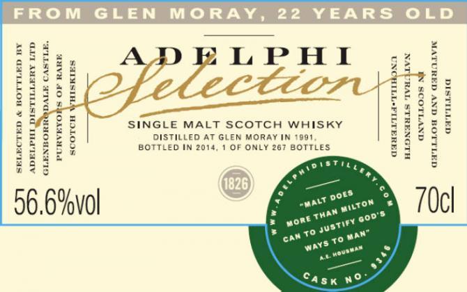 Glen Moray 1991 AD