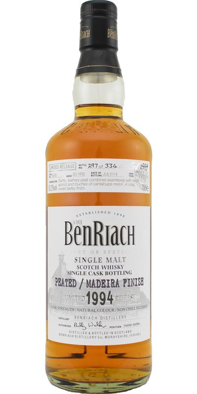 BenRiach 1994 - Peated