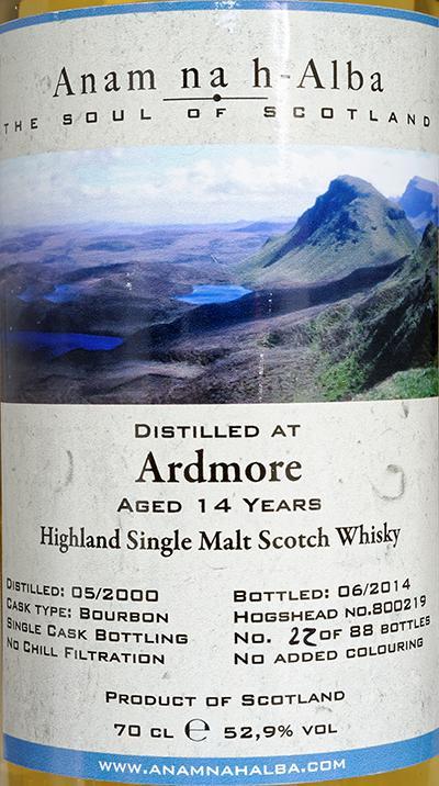 Ardmore 2000 ANHA