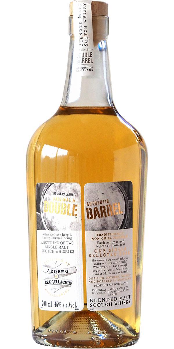Double Barrel Ardbeg / Craigellachie DL