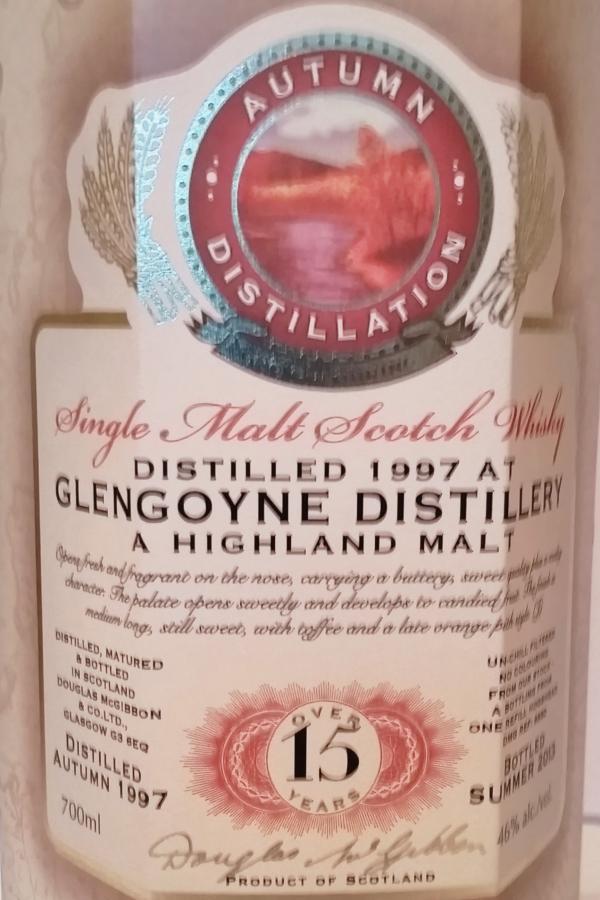 Glengoyne 1997 McG