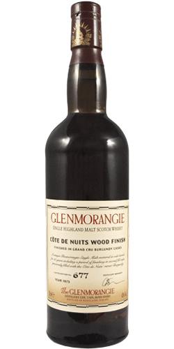 Glenmorangie 1975 Côte de Nuits Wood Finish