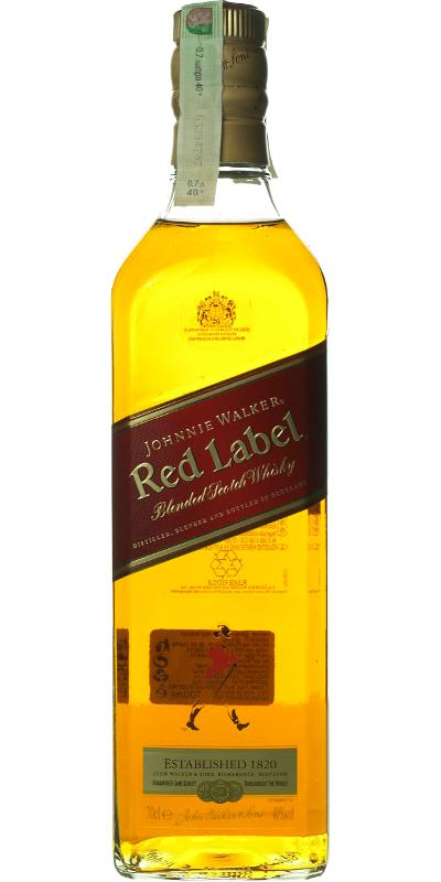 Johnnie Walker Red Label - Ratings and reviews - Whiskybase