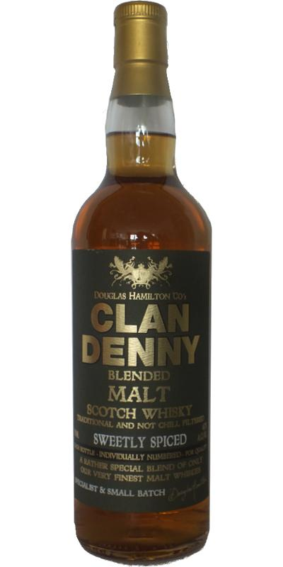 Clan Denny Blended Malt - Sweetly Spiced DH