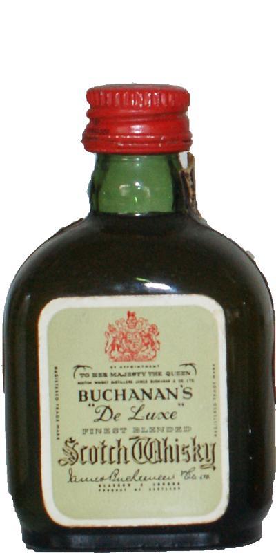 Buchanan's De Luxe