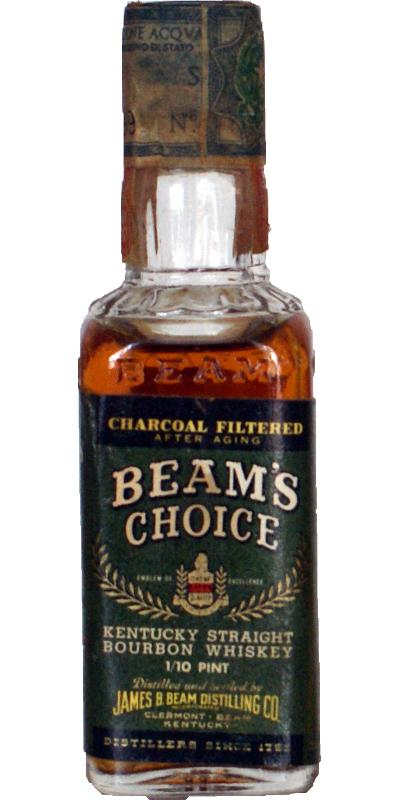 Beam's Choice Charcoal Filtered
