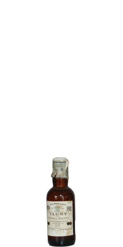 Cluny Scotch Whisky