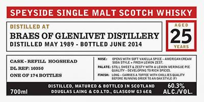 Braes of Glenlivet 1989 DL