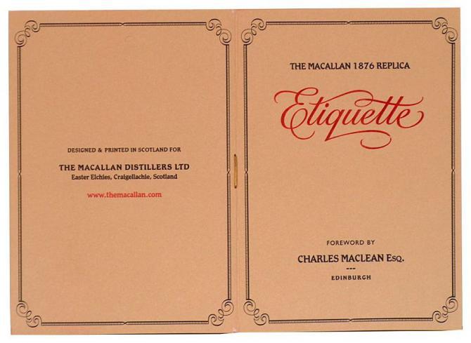 Macallan Replica 1876