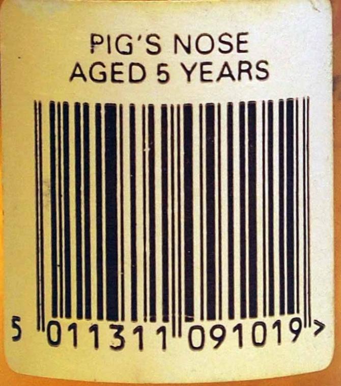 Pig's Nose Finest Scotch Whisky