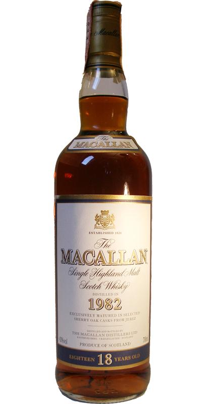 Macallan 1982