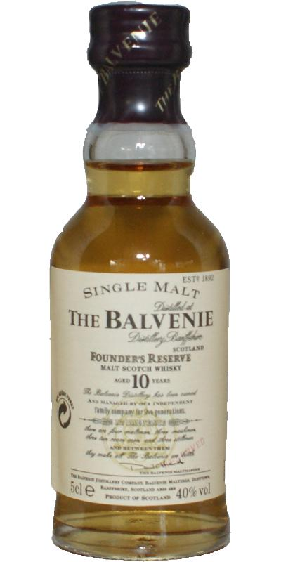 Balvenie Founder's Reserve