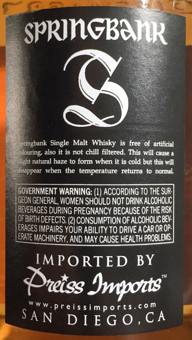 Springbank 14-year-old