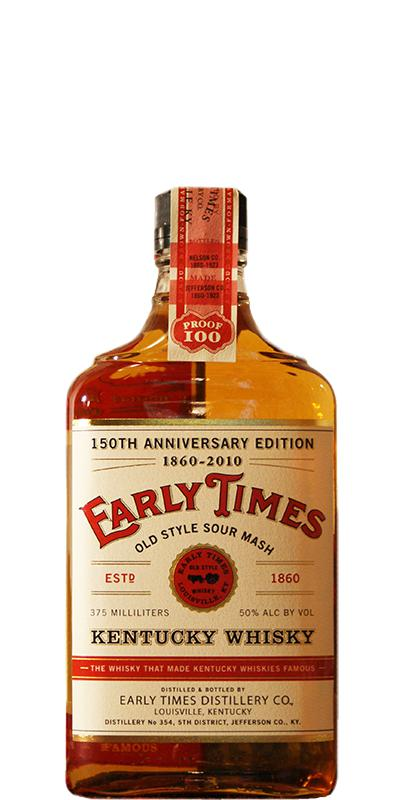 Early Times 150th Anniversary Edition