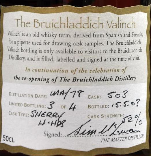 Bruichladdich 1978