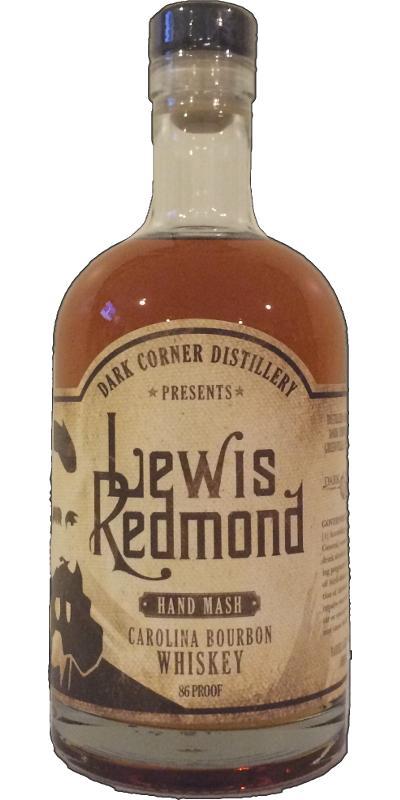 Dark Corner Lewis Redmond Carolina Bourbon Whisky