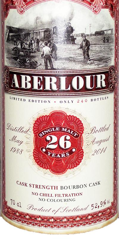 Aberlour 1988 JW
