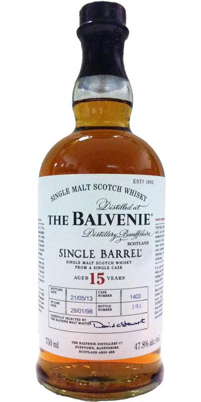 Balvenie 15-year-old