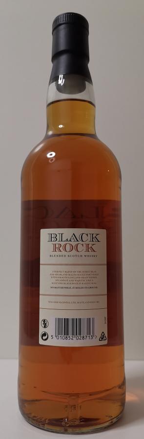 Black Rock Blended Scotch Whisky