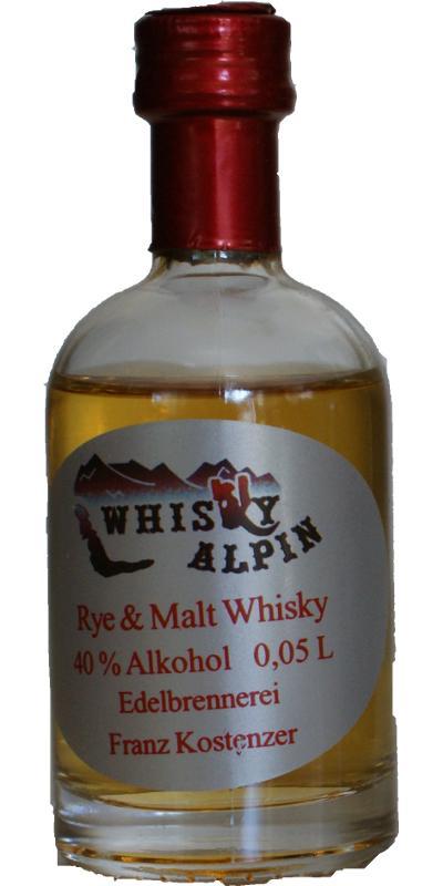 Whisky Alpin Rye & Malt Whisky