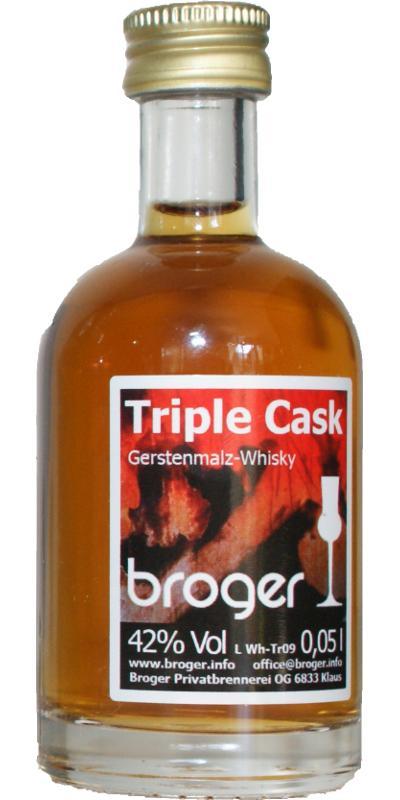 Broger Triple Cask