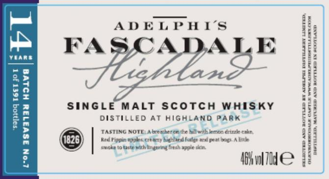 Fascadale Release No. 7 AD