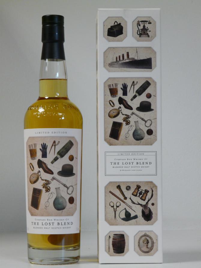 The Lost Blend Blended Malt Scotch Whisky CB