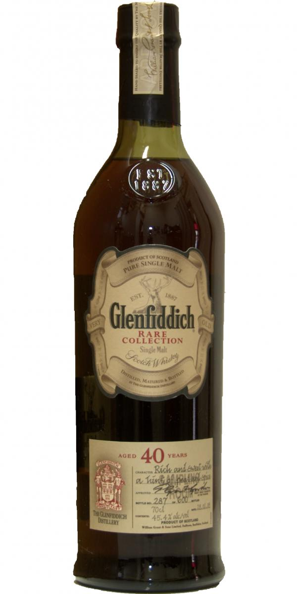 Glenfiddich 40-year-old