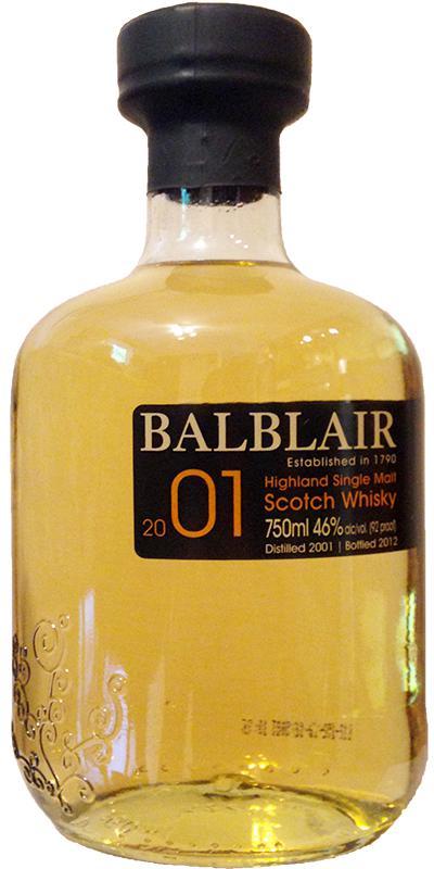 Balblair 2001