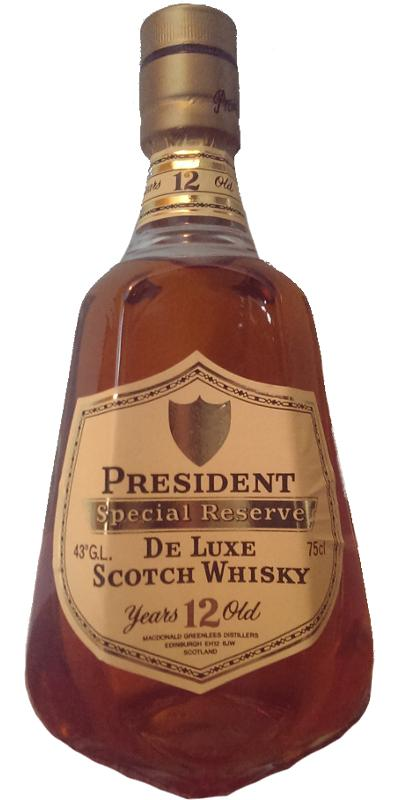 President 12-year-old - Special Reserve