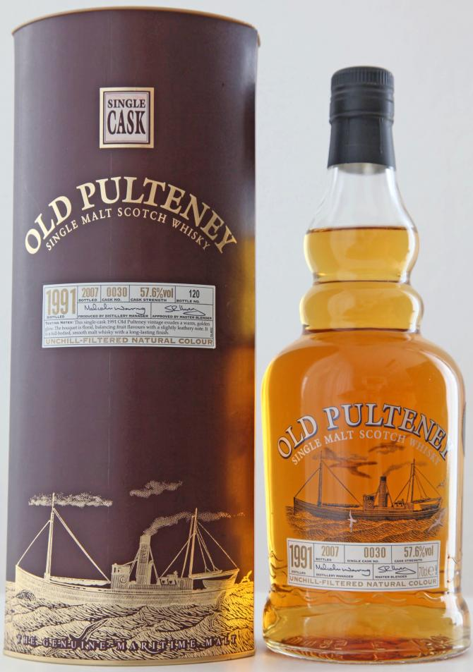 Old Pulteney 1991