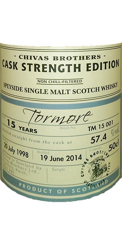 Tormore 1998