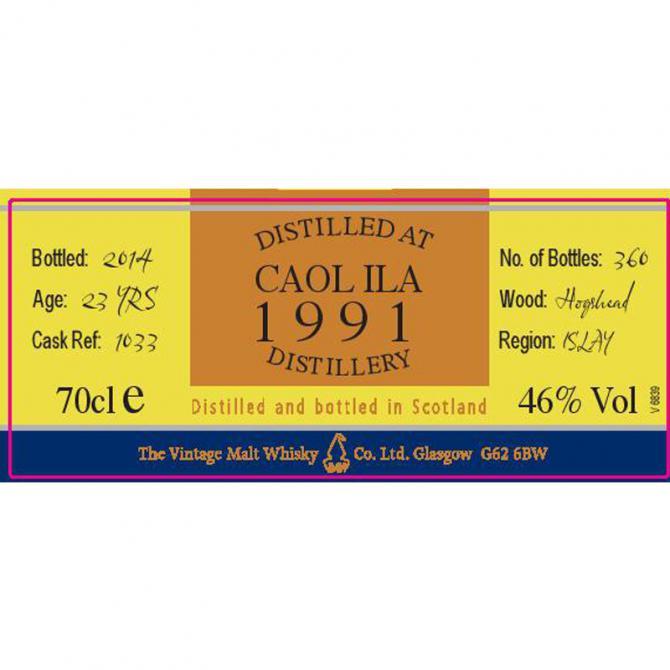 Caol Ila 1991 CC