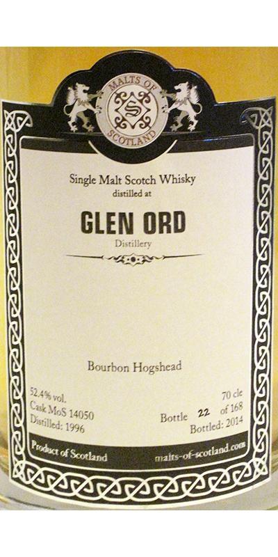 Glen Ord 1996 MoS