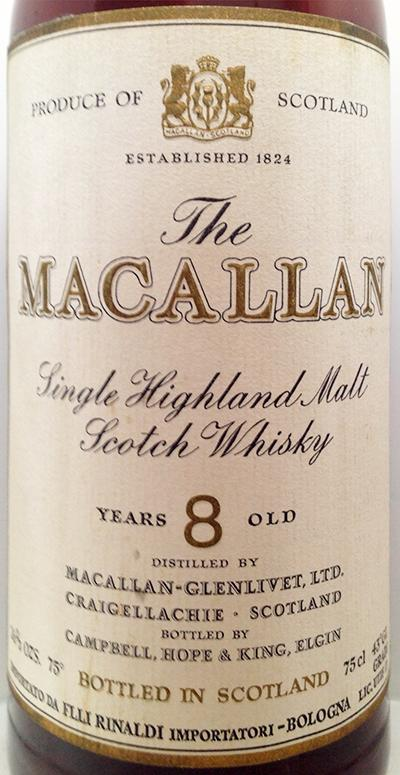 Macallan 08-year-old