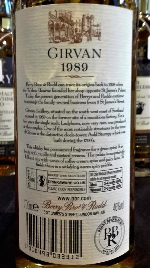 Girvan 1989 BR