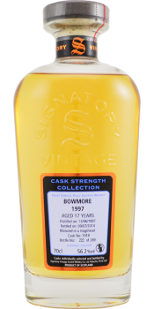 Bowmore 1997 SV