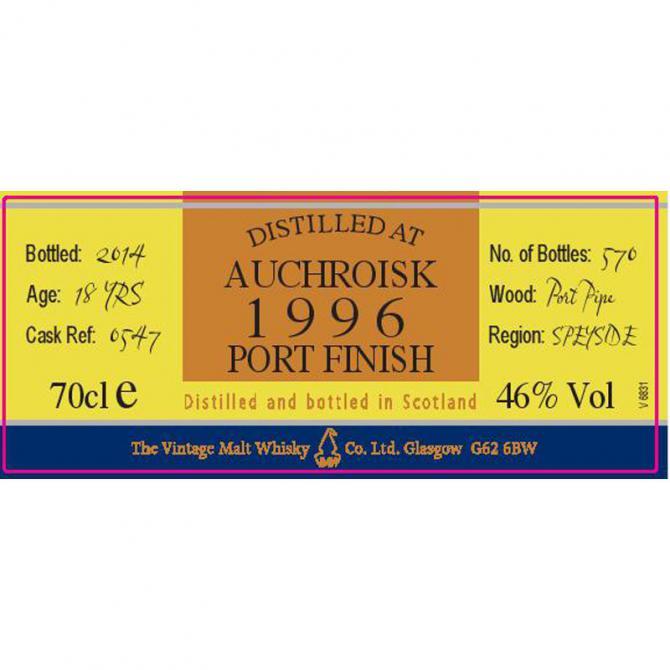 Auchroisk 1996 VM