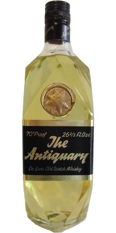 The Antiquary De Luxe Old Scotch Whisky