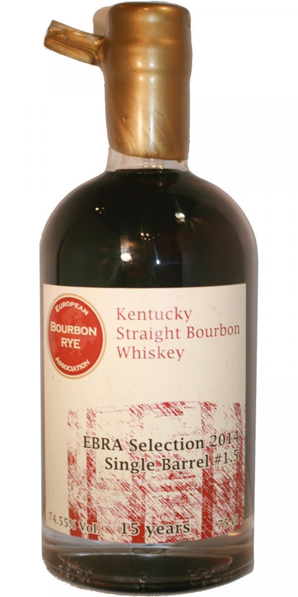 Straight Bourbon Whiskey 1999 EBRA