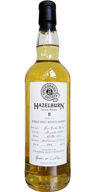 Hazelburn 2002